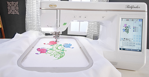 Large Embroidery Field