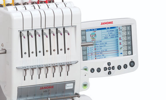 Janome MB-7 Touch Screen