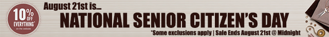 Senior Citizen Sale!