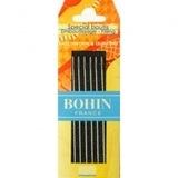 Bohin Big Eye, Round Tip Needles (6pk)