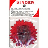 Singer, Large Eye Hand Needles with Magnetic Holder