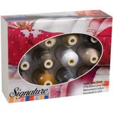 Signature 40 Cotton Thread Gift Pack (12 Colors) (700yds)