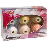 Signature 60 Cotton Thread Gift Pack (6 Colors) (1,100yds)
