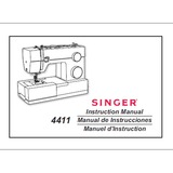 Instruction Manual, Singer 4411 Heavy Duty