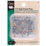 Size 17 Ball Point Color Pins (175 CT), Dritz #39
