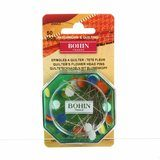 """Bohin, Quilter's 2"""" Flower Head Pins 50pk (size 32) - Multicolored"""