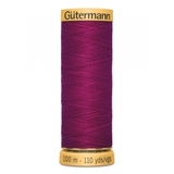 Natural Cotton Thread (50wt), Gutermann