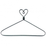 Heart Shaped, Open Center Craft Hanger