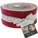 Moda Fabrics, Ombre Bloom Jelly Roll - 40pc