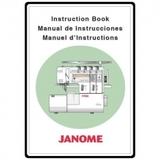 Instruction Manual, Janome 1100D