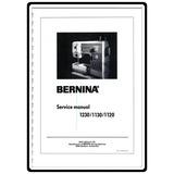 Service Manual, Bernina (Bernette) 1120