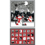 Paintbrush Studio, Christmas Calendar Fabric Panel