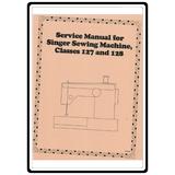 Service Manual, Singer 127