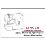 Instructions Manual, Singer 1304 Start