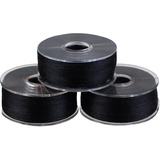 Clear-Quilt, Class L Prewound Bobbins, Black, 100 Pack