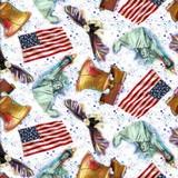 American Icons, Patriotic Mix Fabric
