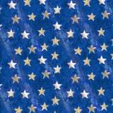 American Icons, Royal Stars Fabric