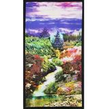 Mountain View Digitally Printed Fabric Panel