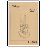 Instruction Manual, Singer 14U52A