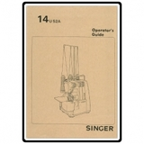 Instruction Manual, Singer 14U32A