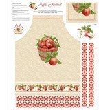 Henry Glass, Apple Festival Apron Fabric Panel