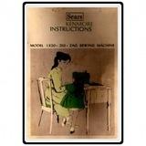Instruction Manual, Kenmore 158.1320 Models