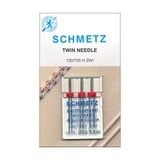 Universal Twin Needles (3pk) 130/705H, Schmetz