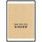 Instruction Manual, Singer 1852