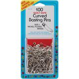 100pk Curved Basting Pins (Size 1), Collins