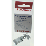 Cording Foot (A), Janome #200207108