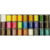 Polyester Embroidery Thread Kit 3, Janome #200920207