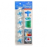 8 Piece Bobbin Toppers