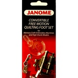 Free Motion Quilting Set, Janome #202001003