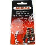 Convertible Free Motion Foot Set (Low Shank), Janome #202002004