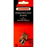 Hemmer Foot 6MM, Janome #202080006