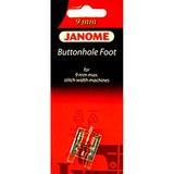 Buttonhole Foot, Janome #202082008