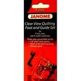 Clear View Quilting Foot and Guide Set, Janome #202089005