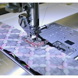 """Clear View 1/4"""" Seam Foot, Janome #202216003"""