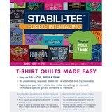 "Stabili-Tee Fusible Interfacing Pack 60""x 72"""