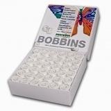 Madeira Prewound L Style Bobbins 144-pk (132yds) - White