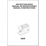 Instruction Manual, Janome 2222