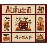 Henry Glass, Buttermilk Autumn Fabric Panel