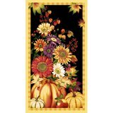 Autumn Time Banner Fabric Panel - 24in
