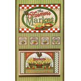 Farmer's Market Fabric Panel
