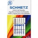 Schmetz Felt & Craft Needles (5pk) - Assorted