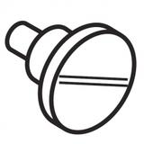 ZZ Rod Eccentric  Pin, Janome #678084007