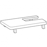Large Extension Table, Janome #811802008