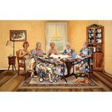 The Gossip Party 1000pc Jigsaw Puzzle