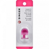 Singer Comfort Fit Gel Thimble with Extra Needle Puller