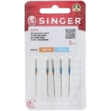 Quilting Needles, Singer (5pk) - Assorted